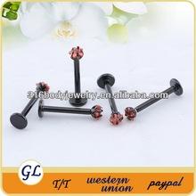 Wholesale Stianless Steel Labret/lip piercing jewelry