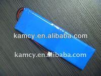li polymer battery pack 7.4v 3100mah 065180P for power tools