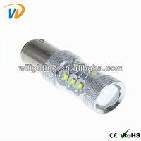 Wllighting 80w Ba15s high power led bulb accessories,ba15s led bulb 12v