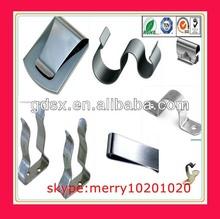 spring steel belt clip battery clip battery terminal clip