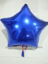 china manufacturer wholesale 2014 new star shape foil mylar balloons