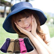 stock!!! china wholesale new fashion straw sun visor cap