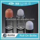 30ml Glass Body Deodorant Roll On Bottle For Cosmetic Package