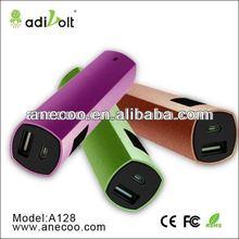 Aluminium case Li-ion 2600mAh mobile phone Power Bank for iPhone 5/4S/4, iPad Mini, iPod, Samsung Galaxy S4, S3, S2, Note 2; HTC