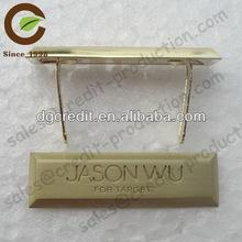 Advertising aluminum metal signs badge