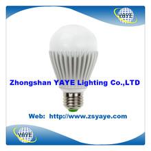 YAYE 2014 Best Sell Factory Price 3W/5W/7W/9W/12W LED Bulbs & 5W LED Bulb Light with 2 years Warranty
