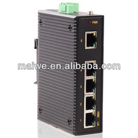 4 port Industrial outdoor Ethernet switch(2 optic+2 Ethernet port)