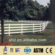 Farm rail fence with competitive price outdoor dog fence made in China
