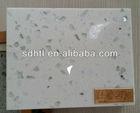 white mirror fleck quartz stone countertop, bath countertops, floor tiles