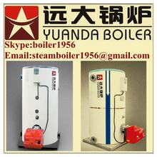 Gas fired half ton steam boiler