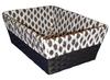 cheap rectangular baskets for crafts wicker storage baskets