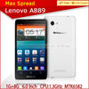 buy mobile phone in china lenovo a889 quad core mtk6582 6inch big touch screen smartphone