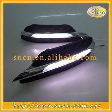 mercedes benz LED DRL Fog Lamp Daytime Running Driving Light mercedes benz w204 led daytime running light