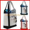 Custom printed canvas tote bag design