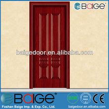 BG-MW9054 classic melamine wooden interior prayer room finished door design