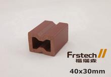 40x30mm engineered wood beams plastic wood beams decoration wood beam