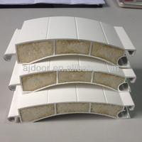 100mm aluminum slat, parts of door roll shutter