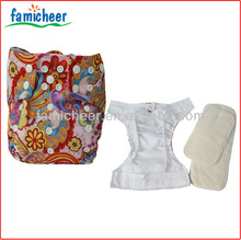 All In Two Double Leg Gusset Pocket Baby Cloth Diapers
