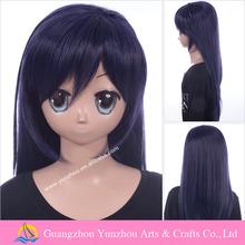 Excelente mão de obra feminina peruca cosplay para Mahou Sensou Aiba Roku