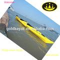 doble kayak de mar para el océano de kayak de oro del fabricante