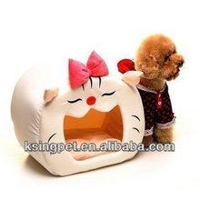 cat wooden pet house