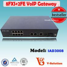 8*FXS voice home gateway