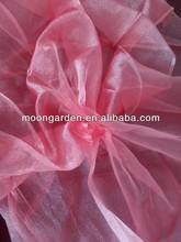 Yarn Dyed Cross Grain Sheer Curtain Fabric