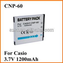 For Casio 3.7V factory Cheap brand battery NP-60 made in China