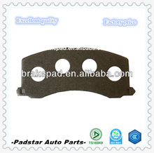 China factory auto part number cross reference brake backing plate for bmw alpina brake pad