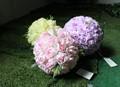 30 cm flor artificial de casamento bola bola flor