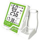 digital lcd temperature and humidity meter clock