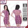 2014 unique design two piece bandage dress simple fashion bright color for summer