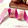 custom printed elastic ribbon printed fold over elastic printed elastic
