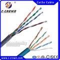 Fob shenzhen definición de precios: fácil tirar de caja de 305 m cat5e cable utp/cat5/cat5e cca cable