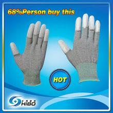 free sample free ship 13 gauge Cabron fiber glove,ESD gloves