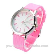 silicone girls beautiful brand watch factory china