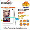 7 Inch Dual Core Tablet PC with 3G WCDMA GPS Bluetooth Cheap Tablet PC with Long Battery Life