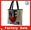 canvas bag/canvas travel bag/cheap plain tote canvas bags