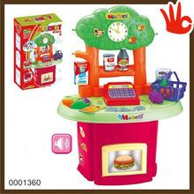 Big size toy cash register toy cash register set toys cashier
