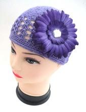 Soft&Lovely kufi handmade crochet baby girl crochet flower hats