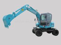 construction equipment wheel excavator heavy equipments