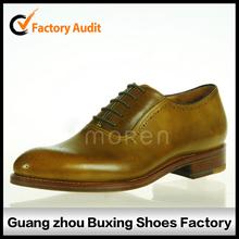 Nuevo diseño pintado a mano los zapatos de lujo pintada zapatos para hombre