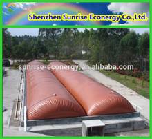 Biogaz septique couvercle du réservoir / lever flottant biogaz digesteur