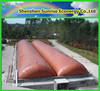 biogas septic tank cover/sunrise floating biogas digester
