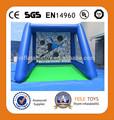 Preço inflável do objetivo do futebol / futebol inflável brinquedos para venda