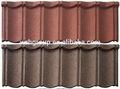 Resistencia al agua de aluminio- zinc placa de a prueba de fugas de bonos de piedra recubiertos con teja de zinc de aluminio para techos azulejos