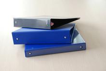 Fully glued A4 PVC ring binder