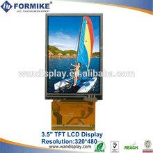 "3.5"" tft lcd panel 320*480 dots(KWH035ST28-F02)"