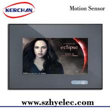 7 inch motion sensor tv monitor,electronic photo frame 2012