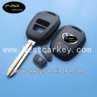 Topbest car key toyota 2 button toyota corolla remote key shell TOY43 and toyota corolla key